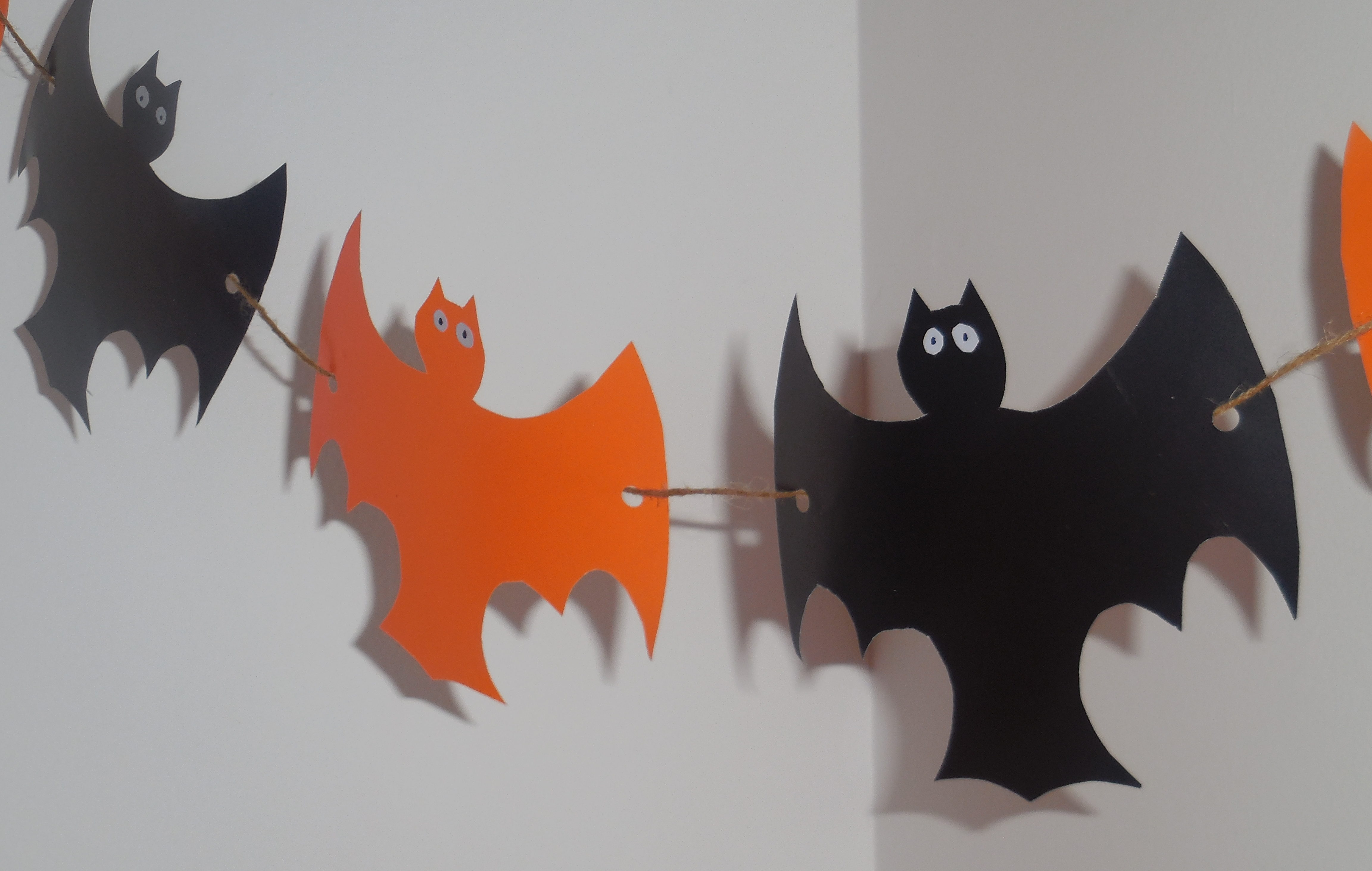 Jednostavan Halloween vijenac